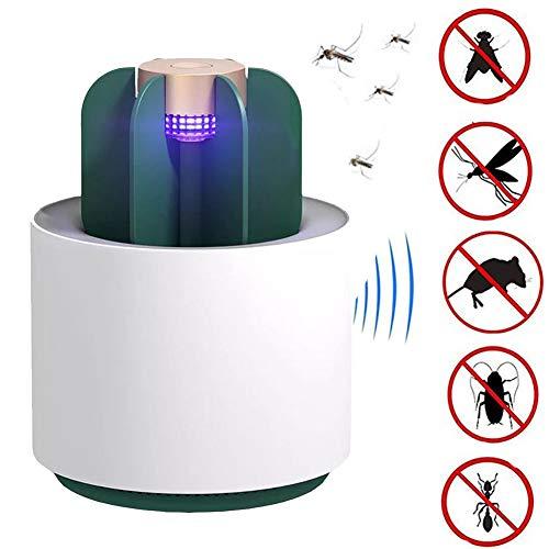 Led Lampada repellente per zanzare fotocatalizzatore, Repellente Zanzare Ultrasuoni,Contro Parassiti Tiene lontani Mosche, Scarafaggi, Ragni, Zanzare,Formiche, Roditori Nessuna radiazione non tossica