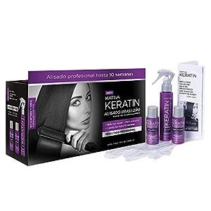 KATIVA Alisado Brasileño de Pelo, Hidratante con Keratina y Aceite de Argán orgánico