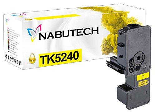 Preisvergleich Produktbild Original Nabutech Toner | Geprüft nach ISO-Norm 19798 | als Ersatz für Kyocera TK-5240Y gelb für Kyocera ECOSYS M5526cdn, M5526cdw, P5026cdn, P5026cdw