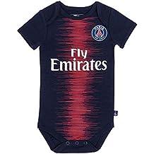 PARIS SAINT GERMAIN Body bébé Maillot Domicile PSG - Collection Officielle  Bébé garçon 994bacd4cb7