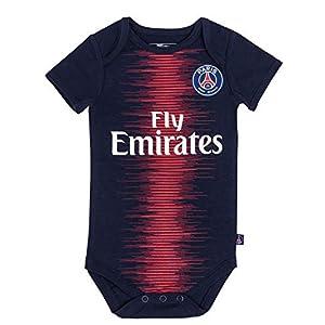 368f8f3e82 PARIS SAINT GERMAIN Body bébé Maillot Domicile PSG – Collection Officielle  Bébé garçon