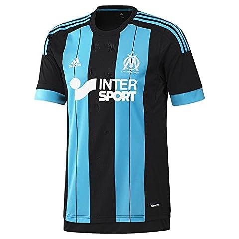 Adidas maillot pour homme olympique de marseille away replica XXL Noir - Black/Om Blue