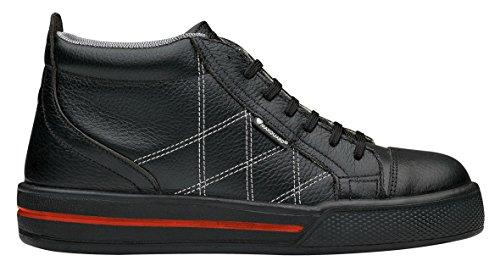 Maxguard LUKE 900211 - Zapatos de protección de cuero para unisex-adultos, color negro, talla 36