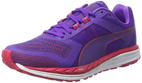 Puma Speed 500 Ignite Pwrcool Wn, Scarpe da Corsa Donna Viola (Electric Purple-sparkling Cosmo 01)