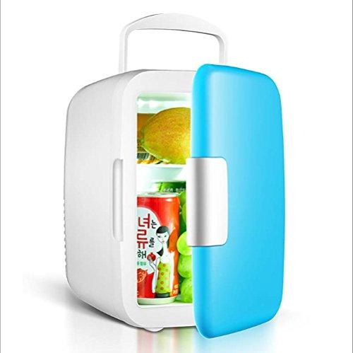 JYSPORT Kühlschrank Tragbarer Mini-Gefriertruhe PKW Kühl Gefrier-Box Heißer und kalter Gefrier (4L blue)