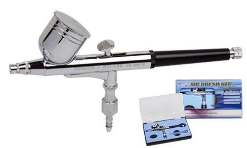 Pistola a spruzzo aerografo fengda® bd-130 con ugello 0,3 mm