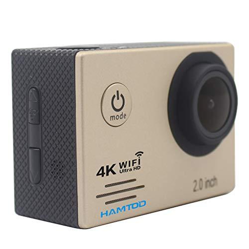 Altsommer Action Cam Unterwasserkamera, Wasserdichte Full HD 1080P Sport Action Kamera mit 4K Dual Screen DVR Cam DV Video Camcorder für Gopro Hero 7/6/4/5 /2/3+ Nikon Sony, Unterwasser Fotografie 120 Fps Dvr