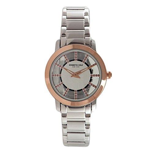 Kenneth Cole Women's Dress watch 10031283 Silver Stainless-Steel Quartz Dress Watch