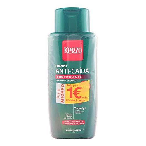 Kerzo Frecuencia Anti Caida Fortificante Normal Shampoo, 800 ml, Pack 2