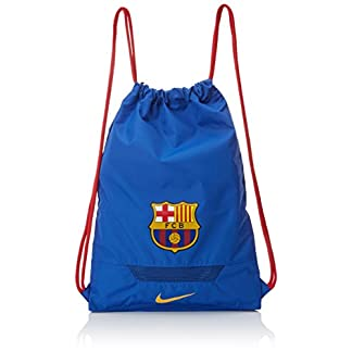 Nike Allegiance FC Barcelona Gymsack Mochila, Hombre, Azul (Game Royal/Prime Red/University Gold), Talla Única