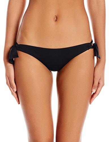 Seafolly Damen Bikinihose Loop Tie Side Hipster, Schwarz (Black), 36 (Herstellergröße: 10) (Bikini-hose Tie Side Seafolly)