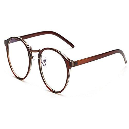 Meijunter Runden Rahmen Anti-Strahlung Computer Brille Für Blaues Licht UV Transparent Linse Herren/Damen Brillen