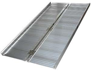 Rampa In Alluminio Richiudibile Per Sedia A Rotelle 180 Cm