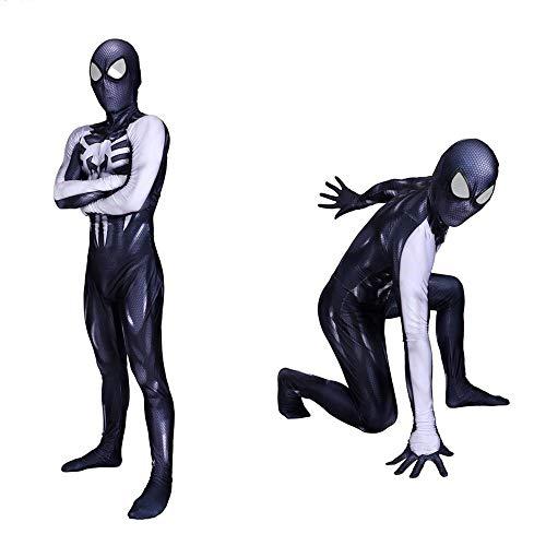 YXRL Venom Cosplay Kostüm Kinder Halloween Kostüm 3D Print Halloween Cosplay Kostüm - Top Kostüm Drama Serie