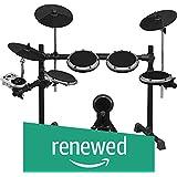 (Renewed) Behringer XD8USB 8-Piece Electronic Drum Set (Black)