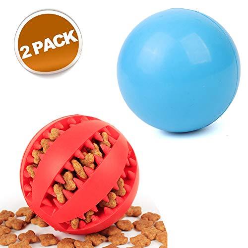 Hundeball mit Zahnpflege-Funktion Noppen Hundespielzeug aus Naturkautschuk | Robuster Hunde Ball Ø 7cm | Hundespielball für Große & Kleine Hunde | Kauspielzeug aus Naturgummi für Leckerli