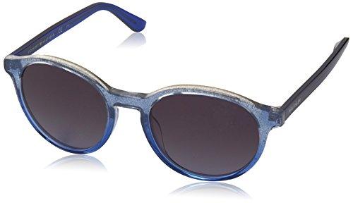 Tommy Hilfiger TH 1389/S HD, Montures de Lunettes Mixte Adulte, Noir (Blue Glitter), 52