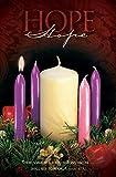 saisonnier bulletin de Noël-Calendrier de l'Avent-'Hope'-Kjv écritures-(lot de 100)