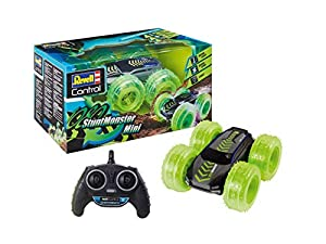 Revell Control- Mini RC Stunt Monster 1080 Juguetes a Control Remoto, Color Gris (23509)