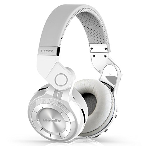Bluetooth Headphones, Bluetooth Headset, DRUNkQUEEn V4.1+EDR Noise Cancelling Hi-Fi Foldable Built in Microphone Super Extra Bass Stereo Wireless Over Ear Earphone for iPhone Samsung HTC Sony Tablet
