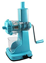 Alakh Enterprise Plastic Fruit n Veg Juicer, Blue, Set of 2