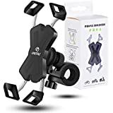 Motorcycle Phone Holder Grefay Universal Smartphone Mount for Motorcycle Rear View Mirror 360° rotating