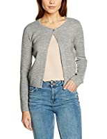 NIZZIN Women's Daisy Shrugs, Grey (L. Grey Mel), X-Small