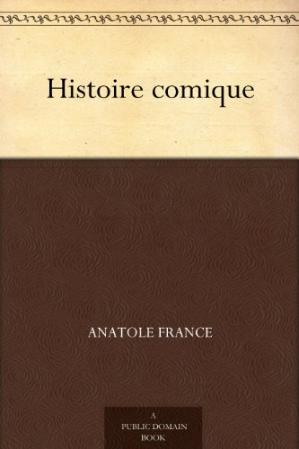 Couverture du livre Histoire comique
