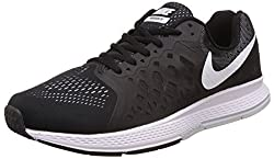 Nike Mens Air Zoom Pegasus 31 Black Running Shoes -7.5 UK/India (42 EU)(8.5 US)