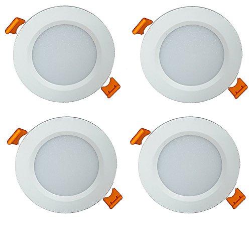 CITRA Plastic 7 W Led Panel Focus Light, White (Pack of 4)