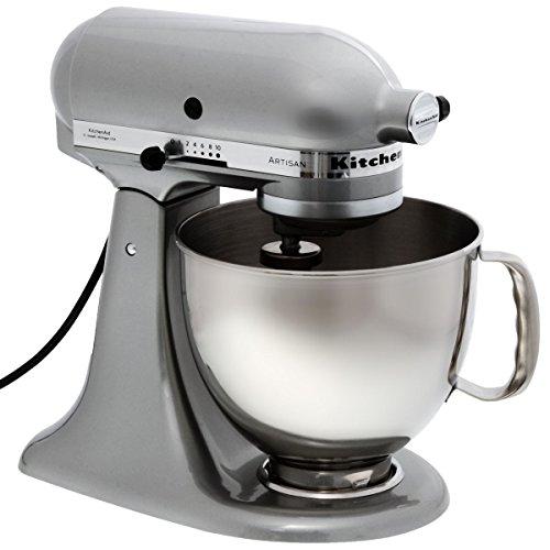 KitchenAid Robot Da Cucina Artisan 5KSM150PSEMC Argento