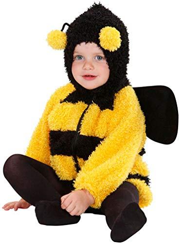 Kleinkind Bee Kostüm Bumble - Karneval-Klamotten Biene Kostüm Kleinkinder Biene Mara Kostüm Baby Bienen-Jacke Größe 0-6 Monate