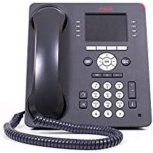 Avaya Avaya 9611G IP Telefon (2-teiliges Telefon (Bluetooth, Freisprechfunktion, IP-Telefon) (Zertifiziert und Generalberholt)
