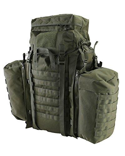 Kombat Molle Tactical Assault Lot Large poches latérales 90L Vert olive