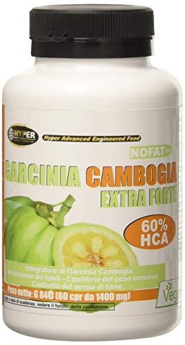 Hyper Garcinia Cambogia Bruciagrassi Favorisce la Perdita di Peso - 60 Compresse