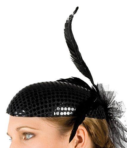 Boland 04136 – Kopfbedeckung Charleston für Erwachsene, Einheitsgröߟe, schwarz - 2