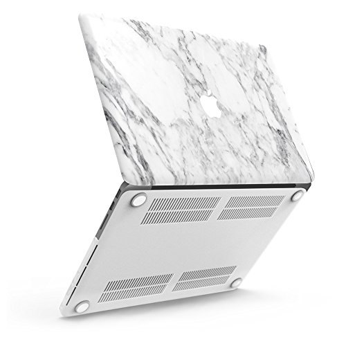 iBenzer Laptopschutz, weicher Kunststoff, für alle MacBooks/ MacBook Air, 33,8 cm/ 27,9 cm/ MacBook Pro, 33 cm/ MacBook Retina, 33 cm/ 38,1 cm/ 30,5 cm (Essential Kollektion Notebook)