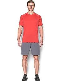 Under Armour Ua Tech Ss Tee Herren Fitness - T-Shirts & Tanks, Rot Pomegranate, M
