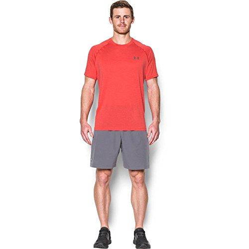 Under Armour UA Tech Ss Tee Herren Fitness - T-Shirts & Tanks, Rot Pomegranate, XXL