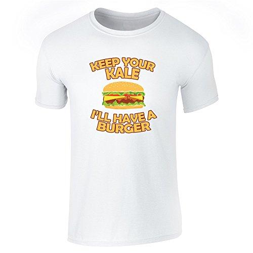 Pop Threads Herren T-Shirt, weiß, 872113