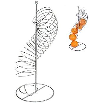 Obsthalter Spirale Orangenhalter Obstspender Obstschale Obstkorb Obstständer