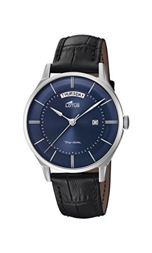 Lotus Watches Mens Analogue Classic Quartz Watch with Leather Strap 18420/2