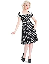 Oops-A-Daisy! Retro Rockabilly Flared Dress
