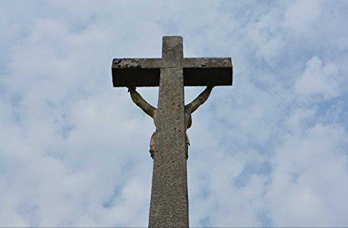 hansepuzzle 53571 Religion - Kreuz von Jesus, 500 Teile in hochwertiger Kartonbox, Puzzle-Teile in wiederverschliessbarem Beutel (Jesus-puzzle Teile 500)