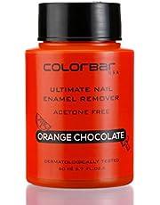 Colorbar Ultimate Nail Enamel Remover, Orange Chocolate, 80ml