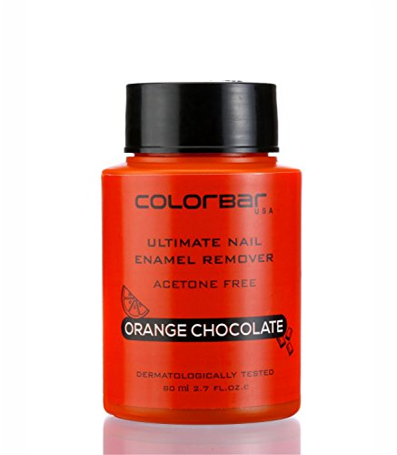 Colorbar Ultimate Nail Enamel Remover, Orange Chocolate, 80ml