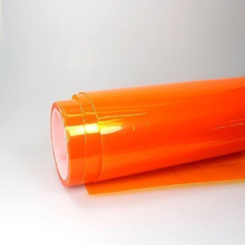 Scheinwerfer Folie Orange Nebelscheinwerfer Auto 1m x 0,3m Tönungsfolie