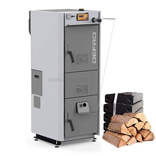Heizkessel DEFRO DS II 25 kW Holz / Kohle Kessel (Holz Kessel)