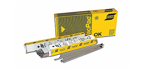 esab ok61.30 10pz electrodo Acero Inoxidable Low Carbon 2 x 300 mm fijo Acero Inoxidable Acero estabilizada