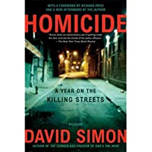 [( By Simon, David ( Author )Homicide: A Year on the Killing Streets Paperback Aug- 22-2006 )]